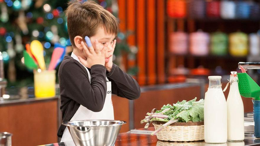 Jefferson, en su regreso a las cocinas de 'MasterChef Junior'