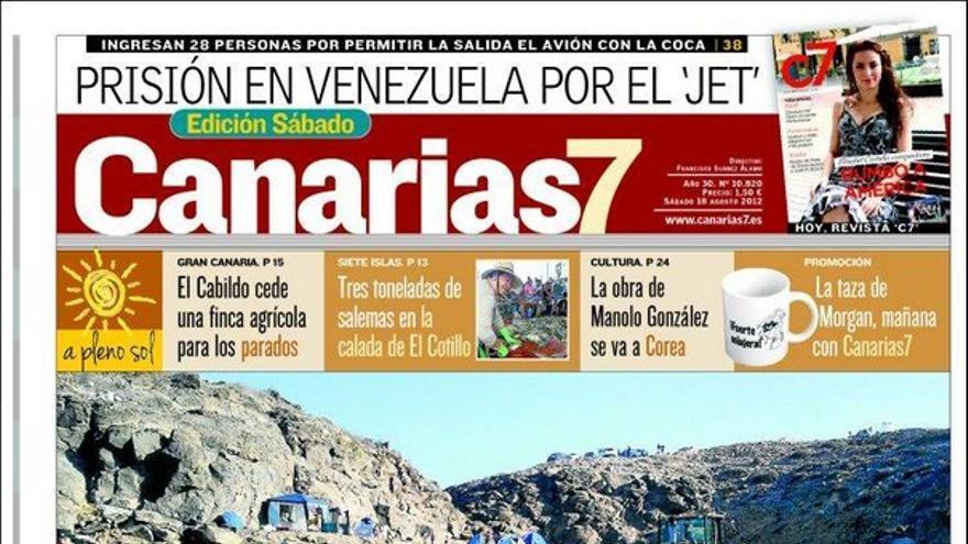 De las portadas del día (18/08/2012) #1