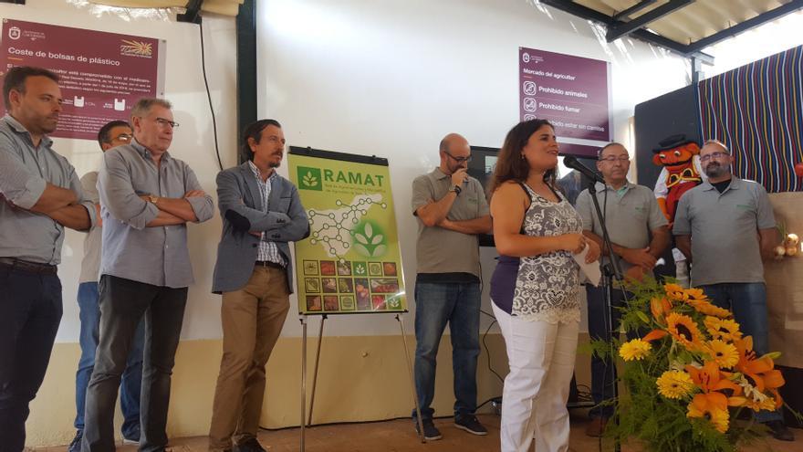 Presentación de la nueva imagen de marca de RAMAT en Candelaria, este miércoles