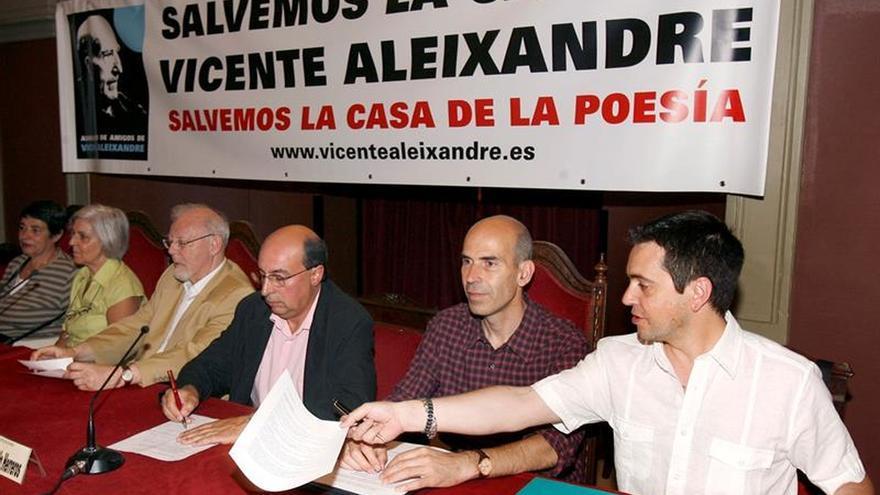 La Asociación de Amigos de Vicente Aleixandre pide una reunión con Cifuentes