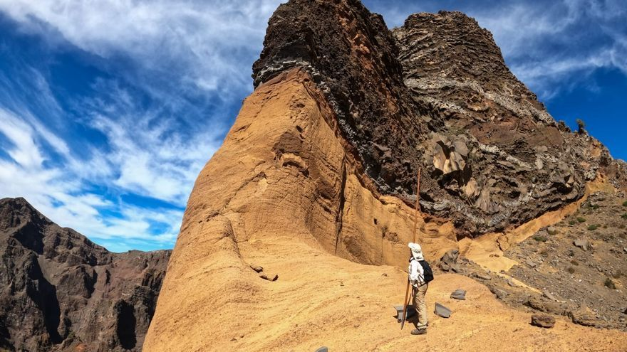 Cumbres del Parque Nacional de La Caldera de Taburiente.