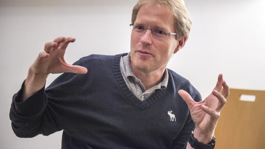 Stephan Micklitz, director de ingeniería de Google, en entrevista con eldiario.es