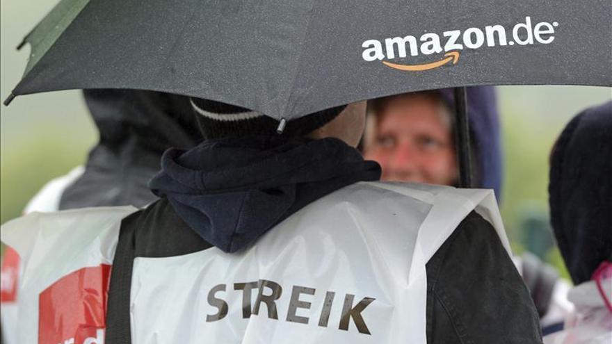 Cientos de trabajadores de Amazon en Alemania secundan la huelga