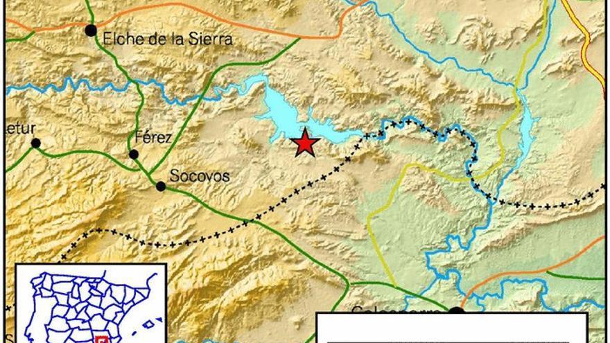 El seismo registrado en Socovos se ha producido de madrugada.