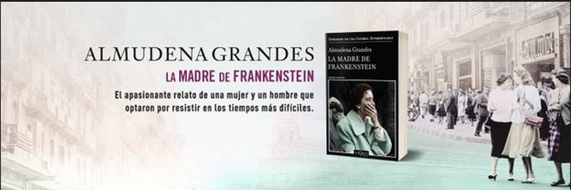 Almudena Grandes presenta La madre de Frankenstein en Espacio Fundacion Telefónica