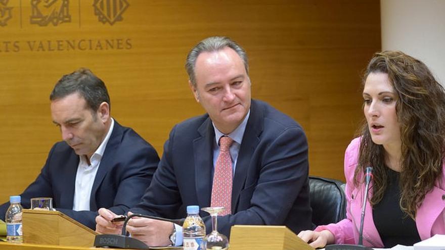 El expresident de la Generalitat, Alberto Fabra, comparece en las Corts