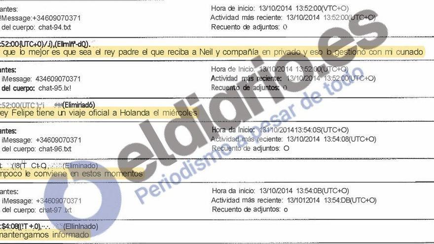 Un mensaje del teléfono de Lopez Madrid vincula a Juan Carlos I en el negocio del Ave a La Meca tras perder la inviolabilidad