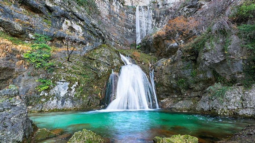 Cascada del Nacimiento del Río Mundo