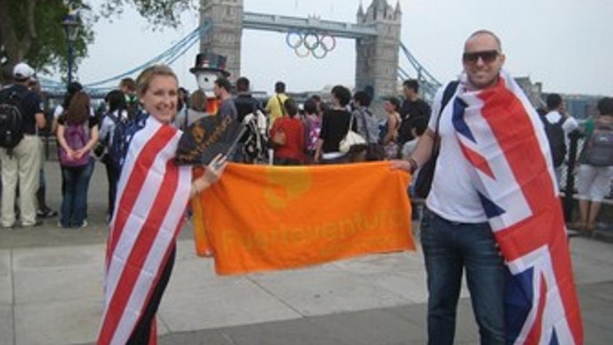 Promoción de Fuerteventura en Londres.