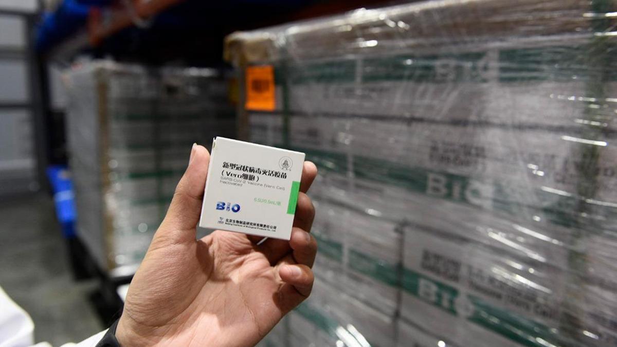 Otros 2 millones de dosis de la vacuna Sinopharm que van a llegar durante el mes de junio.