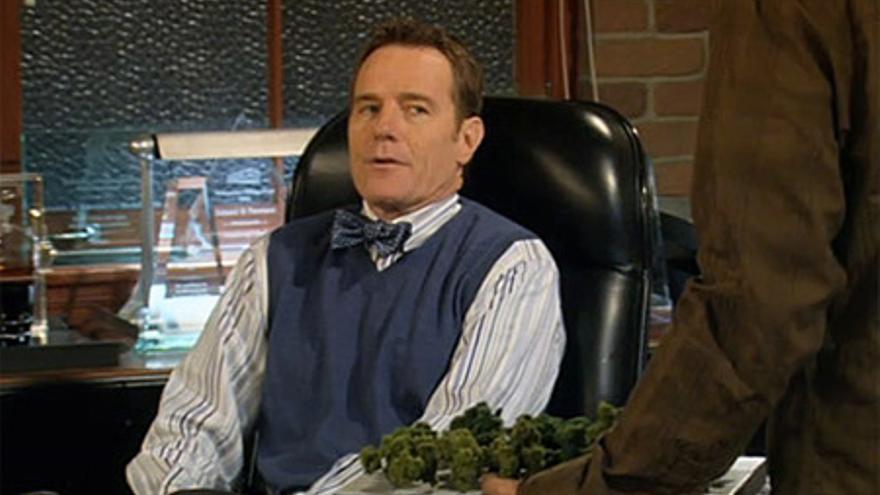 Bryan Cranston, el jefe de Ted en 'Como conocí a vuestra madre'