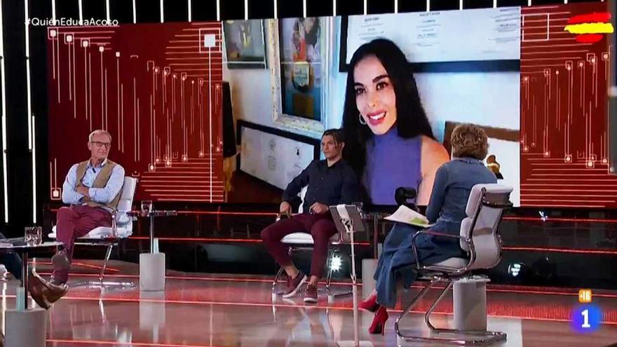 Beatriz Luengo en '¿Quién educa a quién?', de TVE