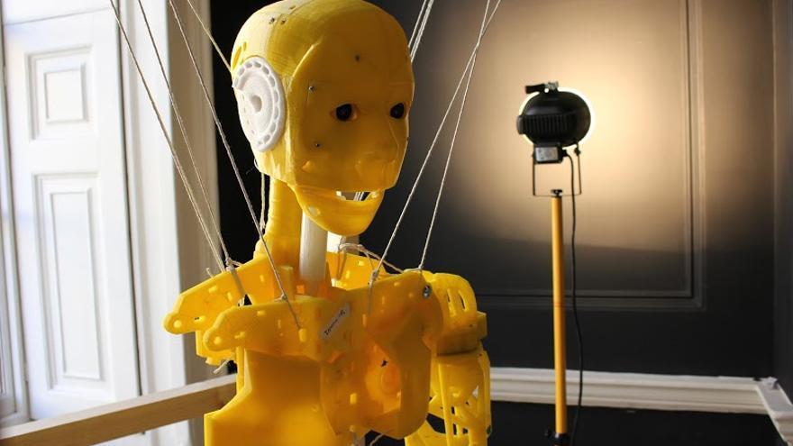 Inmoov es el robot de código abierto que se convertirá en los ojos de los niños hospitalizados