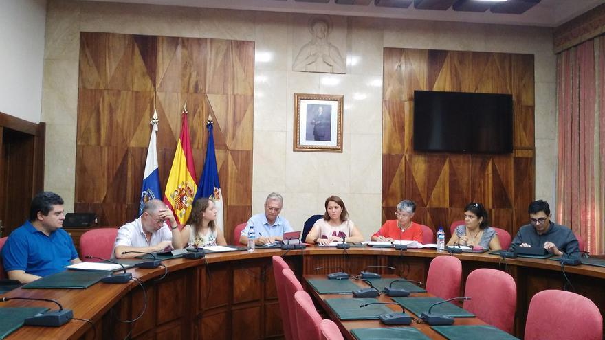 En la imagen, reunión de la Mesa de Astroturismo.
