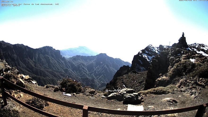 Poco nuboso o despejado y baja probabilidad de calima ligera este viernes en La Palma