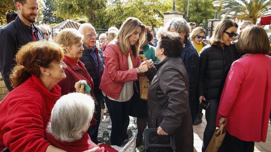 Susana Díaz anuncia que en 2019 se iniciará el proyecto de ampliación del Metro e inclusión en el Pista