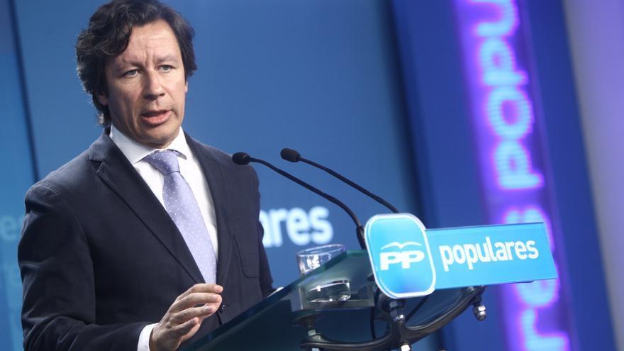 """Floriano ve detrás del perdón de Otegi una """"estrategia electoral"""" y pide que no se trate a la gente """"como idiotas"""""""