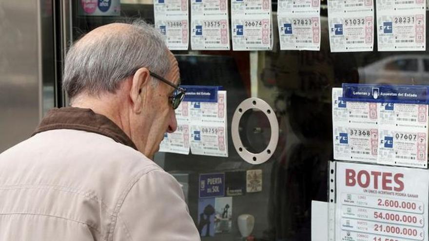 Ventanilla de una administración de lotería