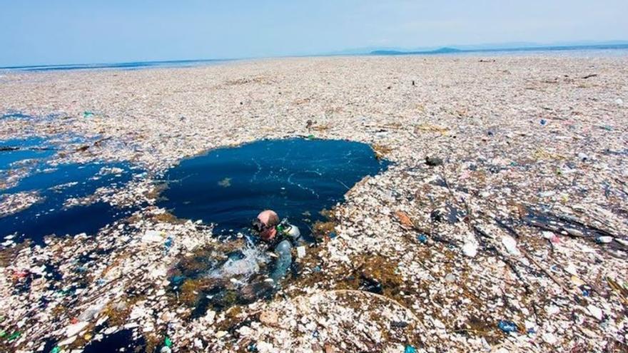 La isla de basura del Pacífico