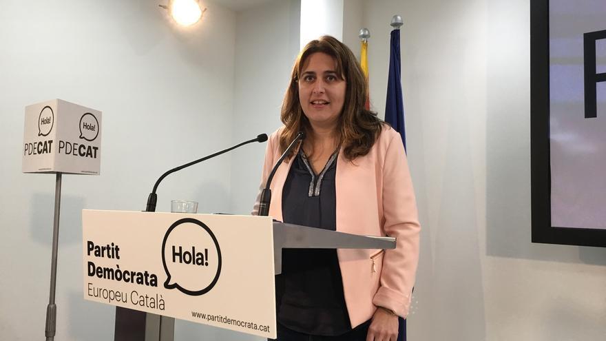 La coordinadora general del ya nombrado PDECAT, Marta Pascal