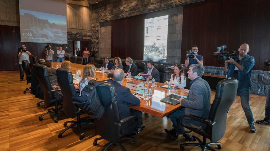 Reunión del Consejo de Gobierno de Canarias celebrada este lunes, 12 de diciembre de 2016.