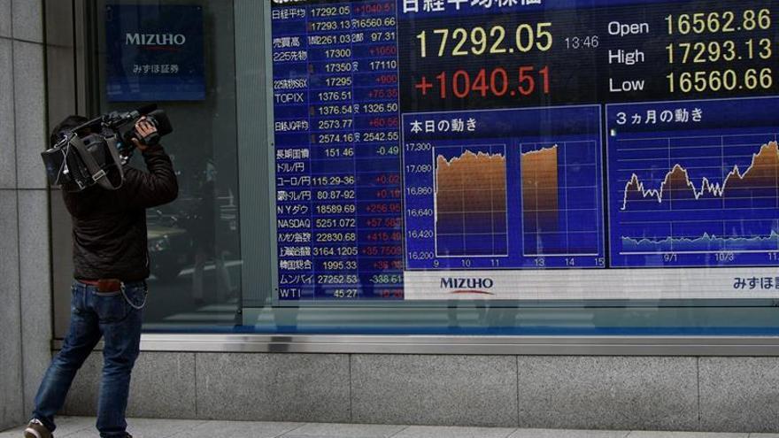 La Bolsa de Tokio abre con una subida del 0,46 % hasta los 19.207,24 puntos