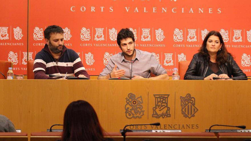 César Jiménez, Antonio Estañ y Fabiola Meco presentan las enmiendas a los Presupuestos para 2018