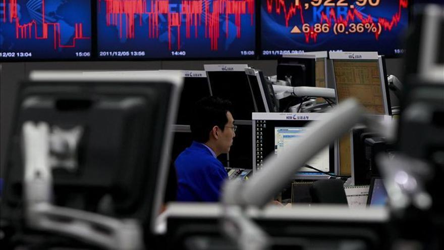 El Kospi surcoreano sube un 0,23 por ciento hasta los 1.984,83 puntos
