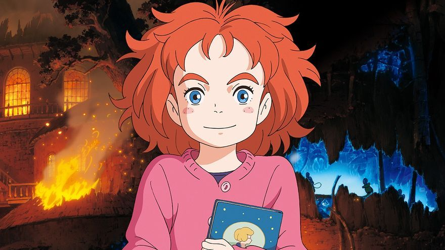 Imagen de 'Mary and the Witch's Flower', la primera película de Studio Ponoc