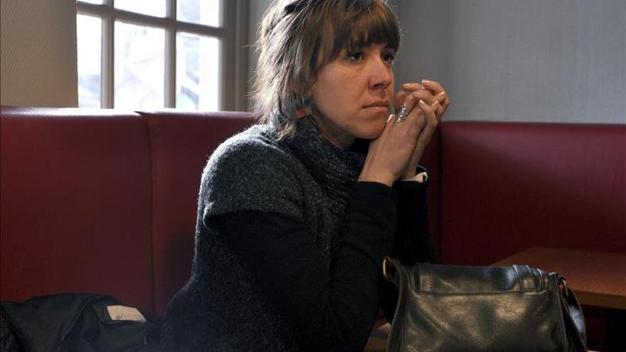 La hermana de la activista vasca Aurore Martin rechaza declarar en España