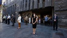 Minuto de silencio en Canarias por las víctimas de la COVID-19