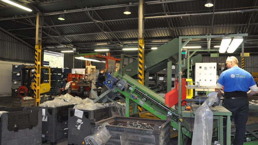 El Grupo Urbegi amplia las instalaciones productivas de su planta de componentes de automoción de Amorebieta