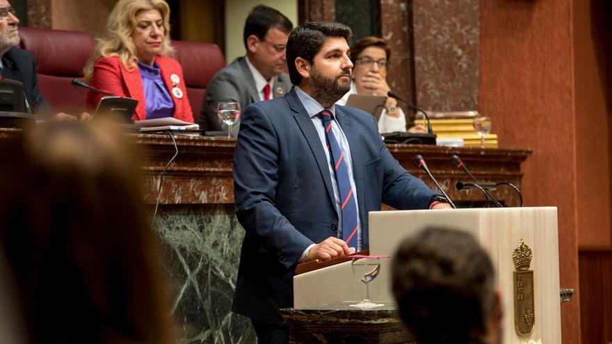 Fernando López Miras (PP) no ha conseguido los apoyos necesarios para ser investido presidente