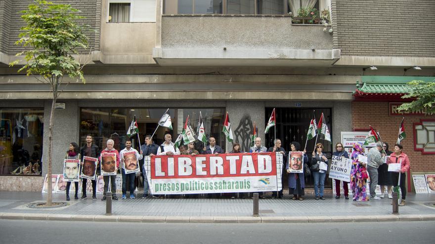 La Asociación Canaria de Solidaridad con el Pueblo Saharaui se suma a una huelga de hambre en cadena en apoyo a los presos políticos saharauis de Geim Izik