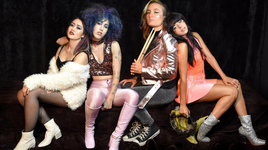 La banda Glam Skanks visita Santander en su gira europea