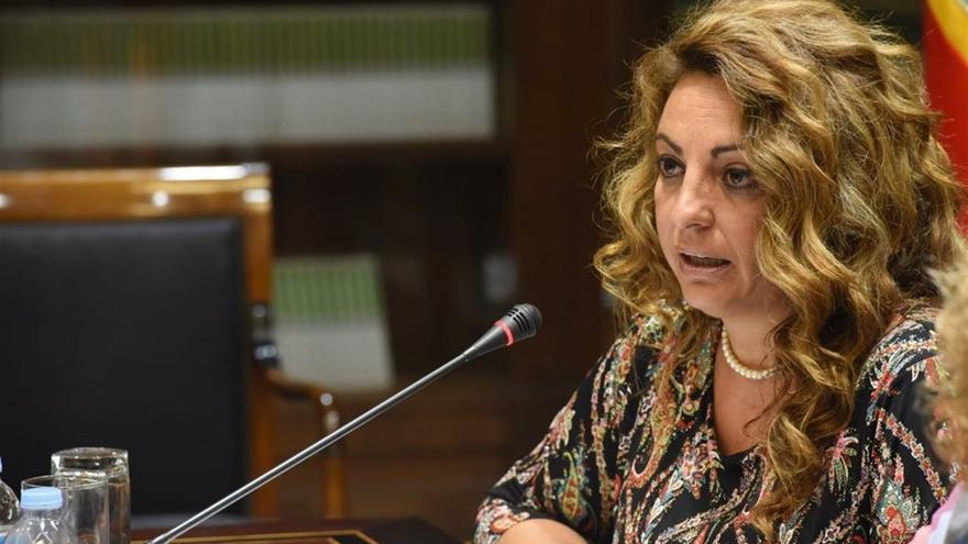 La consejera de Empleo, Políticas Sociales y Vivienda del Gobierno de Canarias, Cristina Valido.