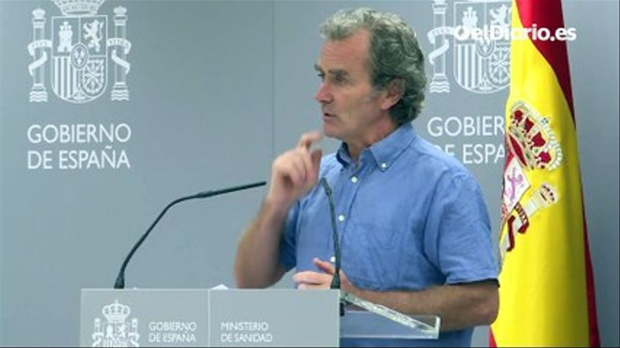 VIDEO    Simón refuses to argue with Madrid, but stresses that