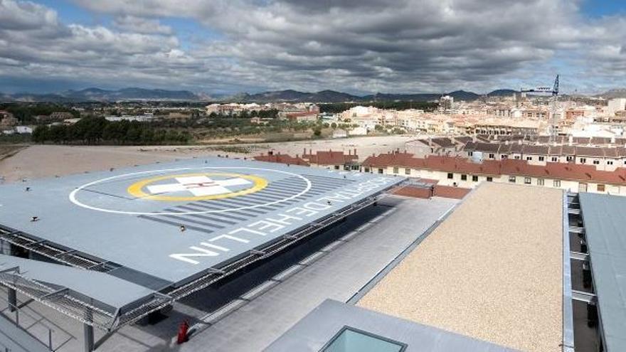 Helipuerto del Hospital de Hellín (Albacete)
