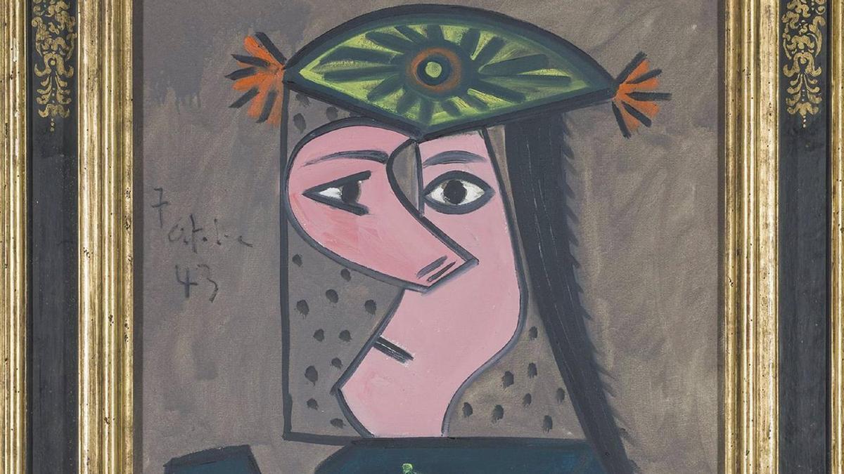 Buste de femme 43, de Picasso