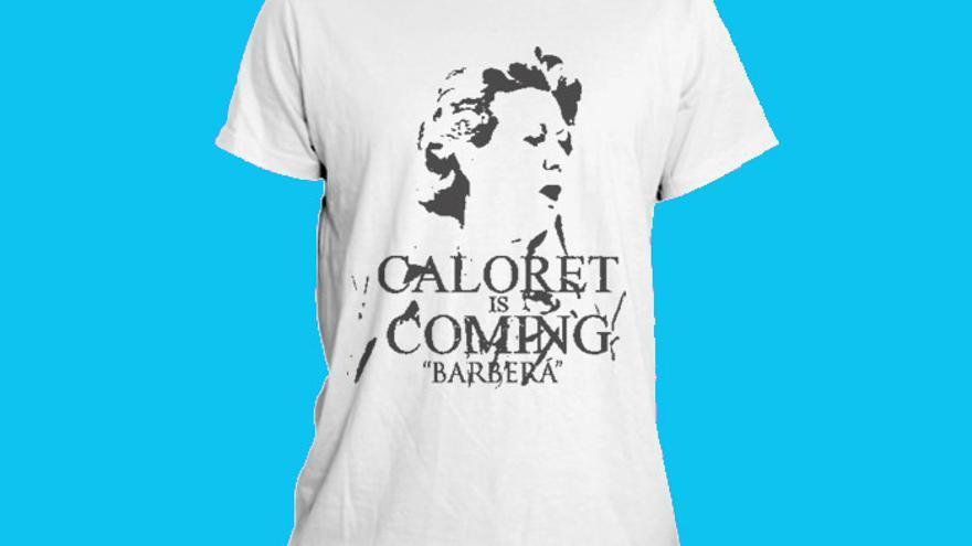 La camiseta-crowdfunding Caloret, un diseño de Maria Rius y una campaña de Pau Llop
