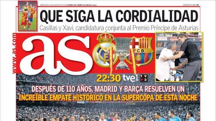 De las portadas del día (29/08/2012) #12