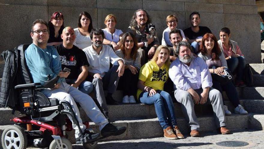 Podemos Extremadura candidatura Entre Iguales Podemos