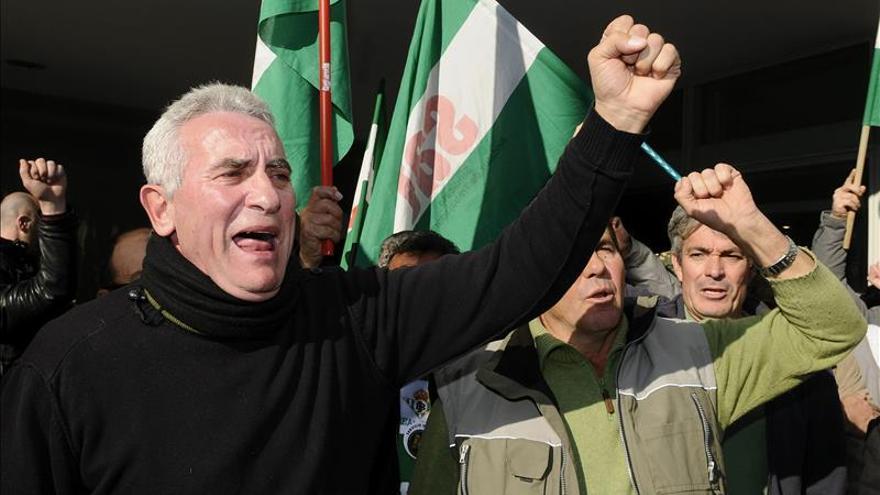La Fiscalía mantiene acusación a Cañamero por incidentes en movilizaciones de 2009