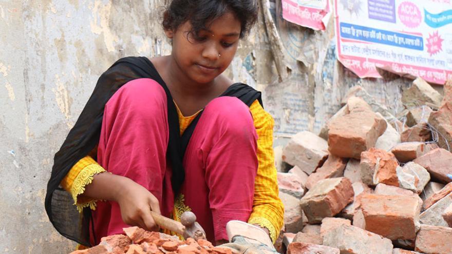 Shanta trabaja duro para obtener un futuro mejor