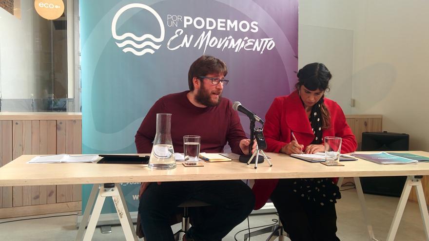 Miguel Urbán y Teresa Rodríguez presentan las propuestas de Anticapitalistas para Vistalegre 2.