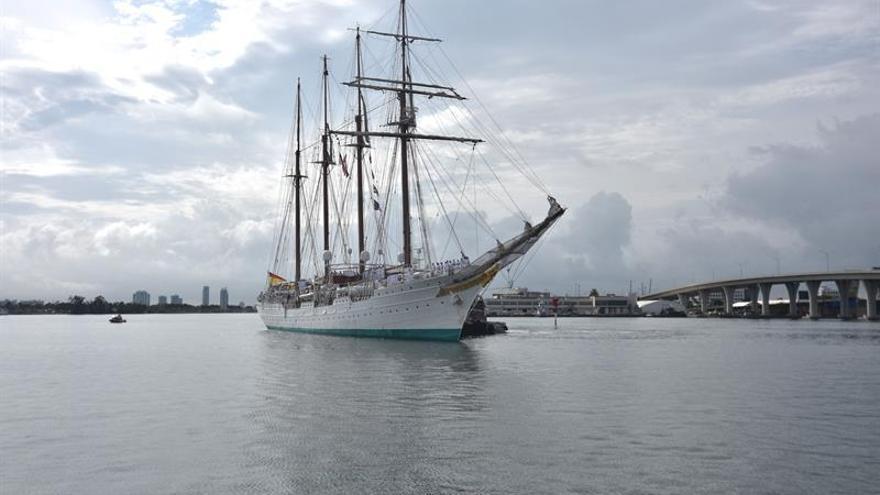 El buque Juan Sebastián Elcano, noventa años sin límites