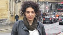 La investigadora social, María Ruiz.