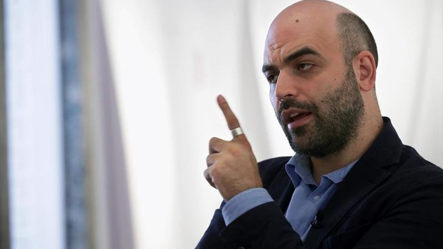 """Roberto Saviano: """"España es una zona franca para la mafia"""""""