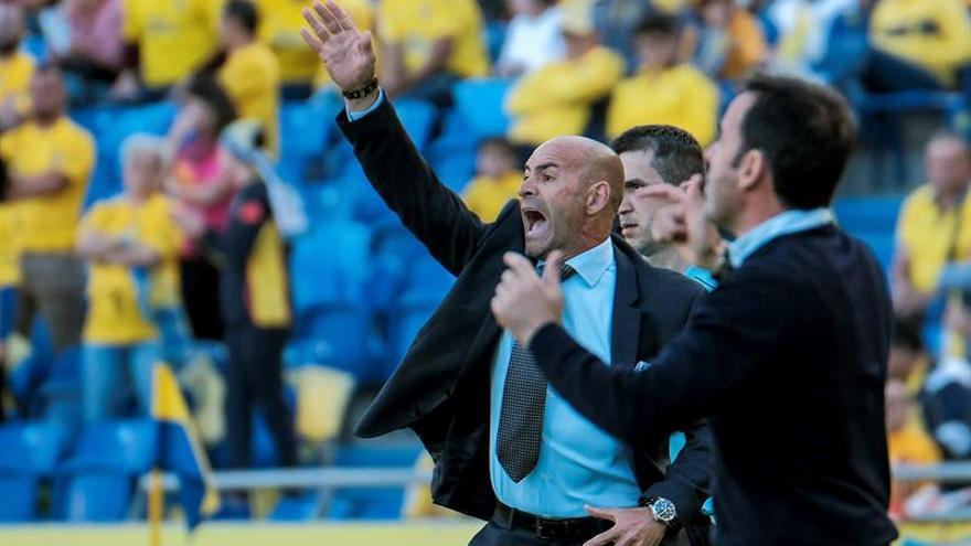 El entrenador de UD Las Palmas, Paco Jémez. (EFE/Ángel Medina G.)