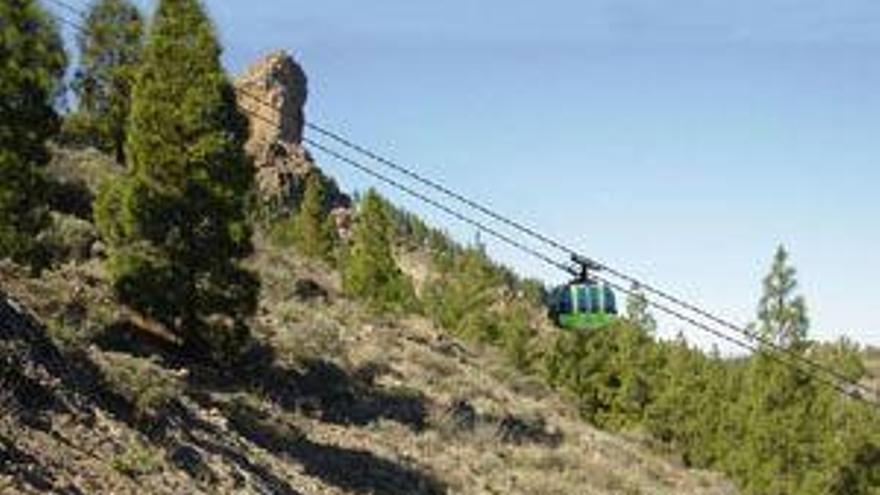 Proyecto de teleférico en el Roque Nublo.